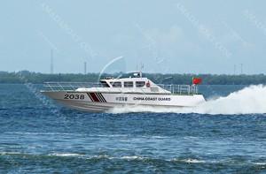 3A2038b(天 行IV )超高速巡逻艇