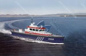 3A2068c(先 导)高适航性引航船