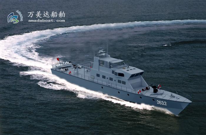 3A2176(剑 龙)单体巡逻艇
