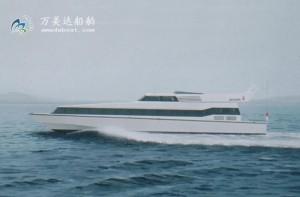 3A2400(仙 岛)100客经济型消波客船