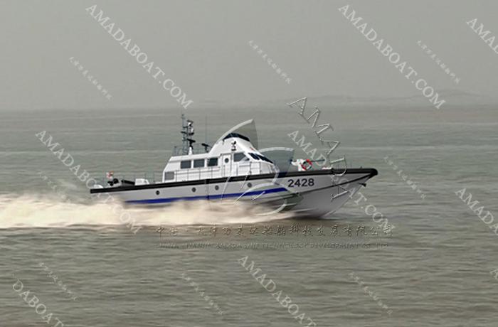 3A2428(湾 鳄)油田高速支援艇