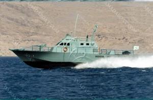 3A2456(台 风)单体高速巡逻艇