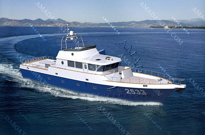 3A2533(黄鲣鱼II)近海游钓艇