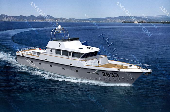 3A2533d(黄鲣鱼)沿海工作艇