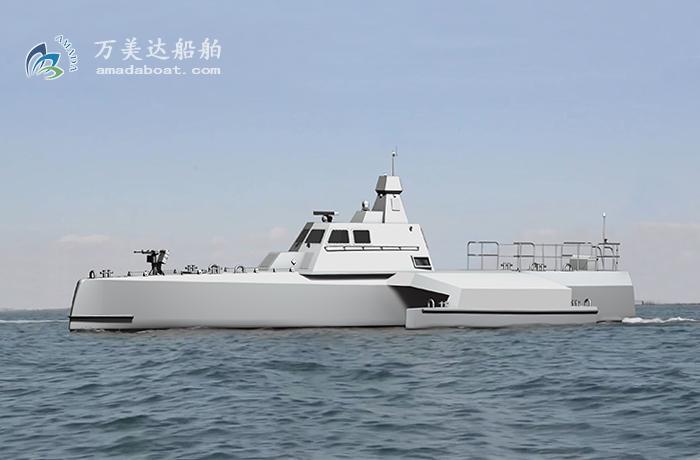 3A2622(智 探)三体隐身猎潜艇