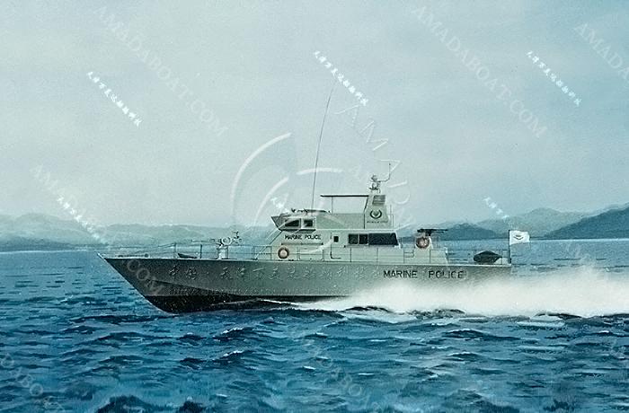 3A2632(勇 士II)单体高速巡逻艇