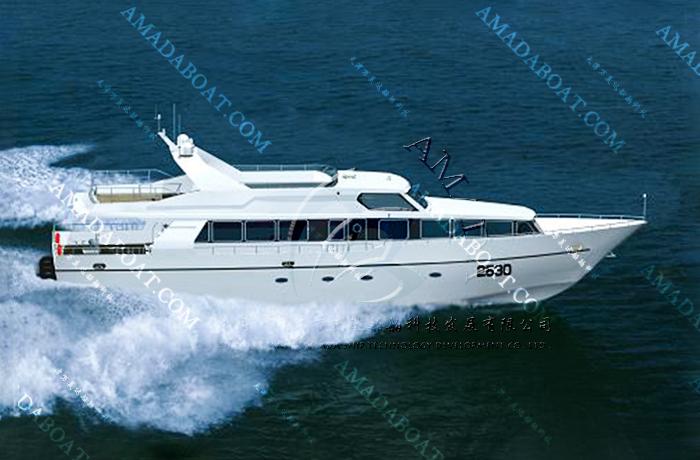 3A2680(军 鸽II)沿海高速交通艇