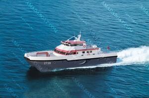 3A2720(风 电)双体风电运维船