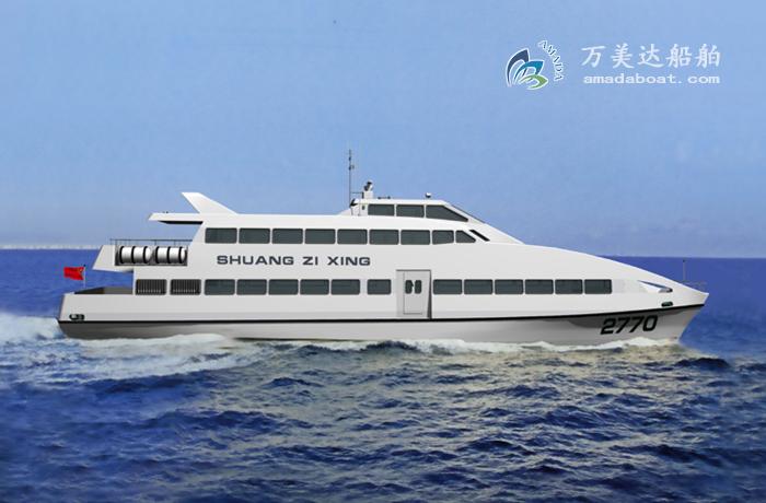 3A2770(双子星)双体观光客船