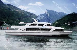 3A3023(金 湖III)单体豪华观光船