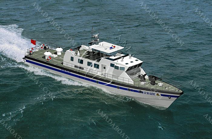 3A3047b(威 龙)沿海高速巡逻艇