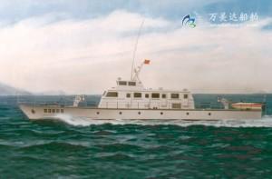 3A3078(狩猎者)单体巡逻艇