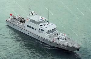 3A3080(海东青)近海武装巡逻艇