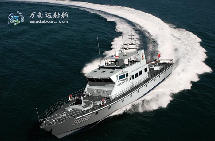 3A3080c(海东青II)近海武装巡逻艇