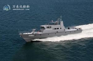 3A3080d(海东青Ⅲ)近海武装巡逻艇