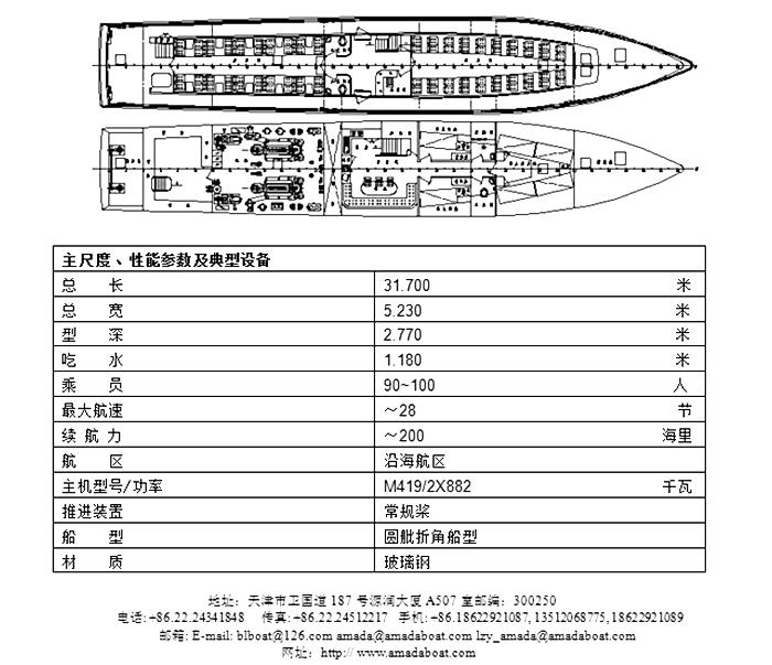 3170(仙岛II)沿海高速客船