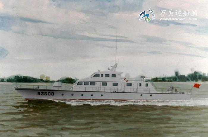 3A3312(霸王龙)单体巡逻艇