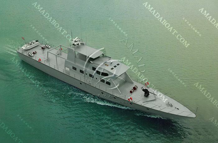 3A3993(凯 旋II)单体巡逻艇