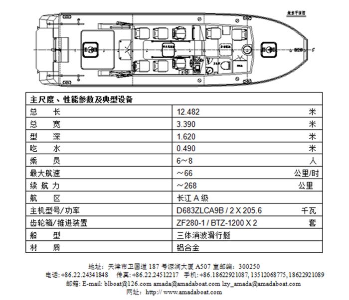 3A1248(西 海)高原高速巡逻艇2