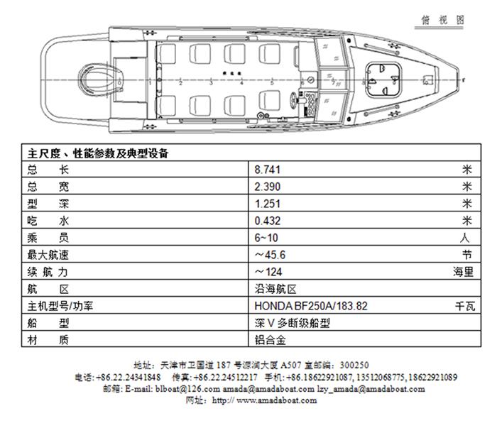 3A751b(驯 狼Ⅱ)边防巡逻艇2