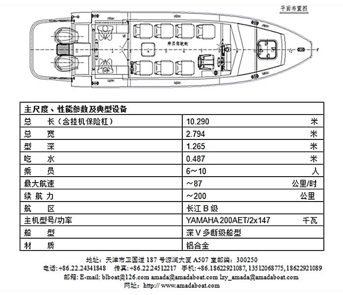 3A879(矛 隼)边防巡逻艇