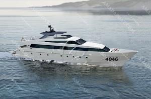 3A4046b(西 沙)近海高速客船