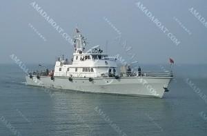 3A4080(鱼 叉)单体高速巡逻艇