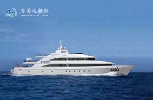 3A4983c(海 神)近海观光客船