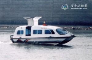 3A530b(海 鸥)三体消波交通艇