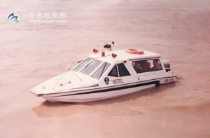 3A584(雪 雁)双体边防巡逻艇