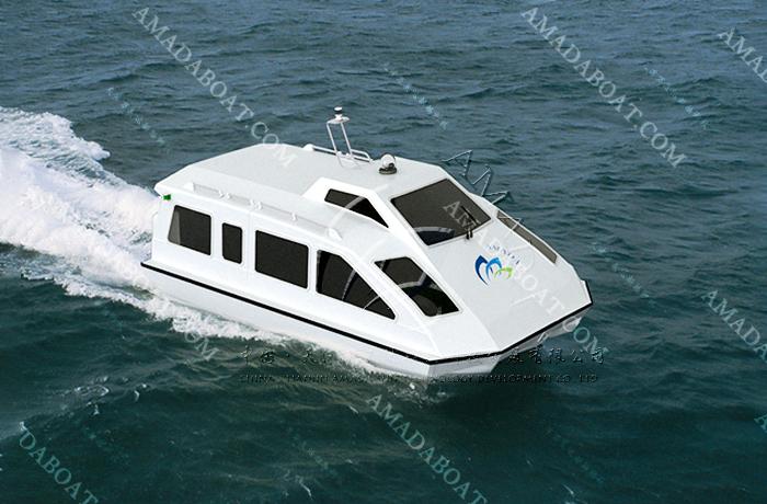 3A593(蝙 蝠)五体消波交通艇