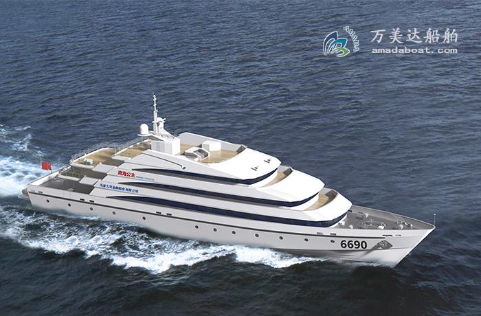 3A6690(南海公主)550客远海观光客船