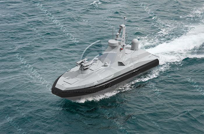 3A750(海 狸)双体隐身无人艇