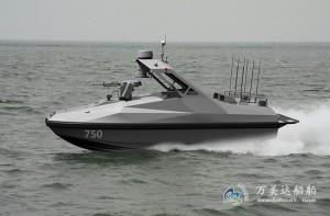 3A750b(海 猫)双体无人拦截艇