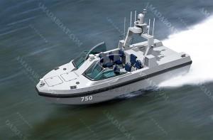 3A750c(海 猫II)双体高速无人艇