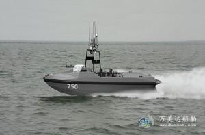 3A750e(海 猫V)双体无人舰载艇