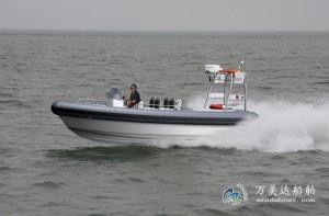 3A780(虎 刺)高速舰载工作艇