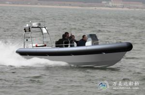 3A780b(虎 刺Ⅱ)高速舰载拦截艇