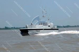 3A797双体无人测量艇