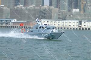 3A809(蜂 鸟)单体浅水巡逻艇