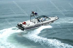 3A822(利 剑)海关浅吃水摩托艇