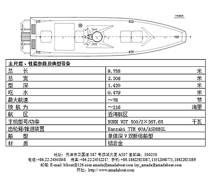 920(金雕)超高速无人艇