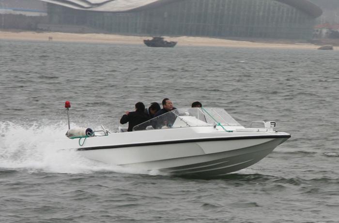 3A550(海猫)高速舰载工作艇